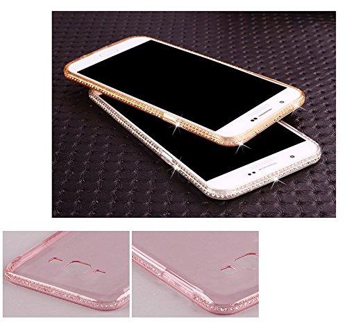 Vandot Samsung Galaxy A5 (2015 Version) Coque de Protection Etui Transparent Antidérapant Pour Samsung Galaxy A5 (2015 Version) Etui Protection Dorsale Étui Slim Invisible Housse Cover Case en TPU Gel TPU diamant-2