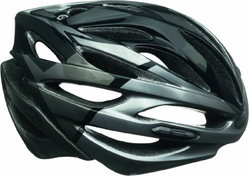 Bell Fahrradhelm Array, Black/Titanium Velocity, 58-62 cm, 210055018