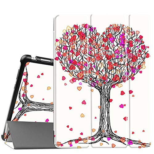 Fintie Huawei Mediapad M3 Lite 10 Hülle - Ultra Dünn Superleicht SlimShell Case Cover Schutzhülle Etui Tasche mit Zwei Einstellbarem Standfunktion für Huawei Mediapad M3 Lite 10 Zoll, Herbst Liebe