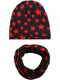 9e79ce00abdd Tukistore Automne Hiver Bébé Bonnet Écharpes Set Bébé Chaud Enfants Coton  Hiver Casquette Chapeau + Hiver