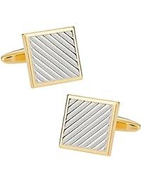 Boutons de manchette en or et argent Pince coupante diagonale