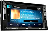 JVC KW V240BT DVD/CD/USB Reciever with Built-in Bluetooth and VGA Resolution 15.7cm (6.2inch) Touch Panel Black