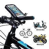 jinclonder jinclonder Fahrrad Telefonhalterung Taschen wasserdichte Handyhalter Lenker Fahrrad Telefon Unterstützung Ständer Halterung für Fahrrad Elektrofahrrad Motorrad