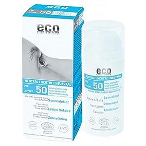 Eco Cosmetics – Loción Solar Neutral FPS 50 EcoCosmetics, 100 ml
