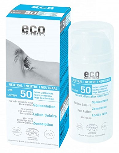 eco cosmetics Sonnenlotion LSF 50 neutral, 100 g
