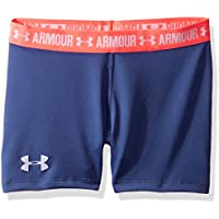Under Armour Shorty Shorts, Girls, Morado (Deep Periwinkle), YMD