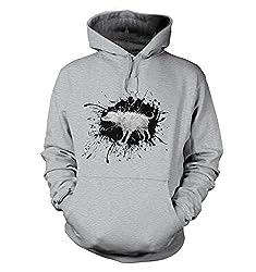 Banksy Wet Shaking Dog Hoodie