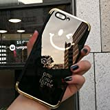 JAWSEU Coque Etui iPhone X Miroir Cristal Clair Silicone Case iPhone X Ultra-Mince...