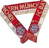 FC Bayern München Schal Rekordmeister 17 x 140 cm