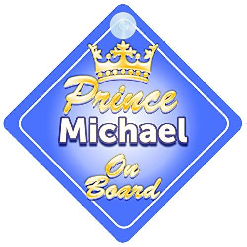 corona-prince-michael-a-bordo-personalizada-para-bebe-nino-ninos-coche-senal