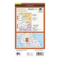 ORDNANCE SURVEY Explorer Active OL19 Howgill Fells & Upper Eden Valley Map With Digital Version
