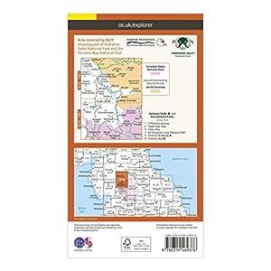 ORDNANCE SURVEY Explorer Active OL19 Howgill Fells & Upper Eden Valley Map With Digital Version