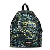 Eastpak Padded Pak'R Sac à dos, 40 cm, 24 L, Multicolore (Blurred Lines)