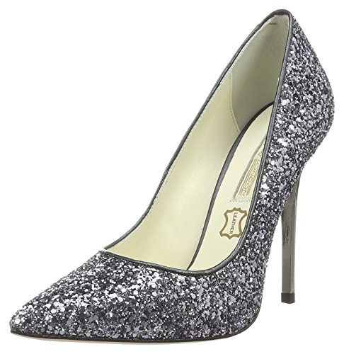 Buffalo 11335-269 L Glitter, Escarpins Femme Gris (Pewter 01)