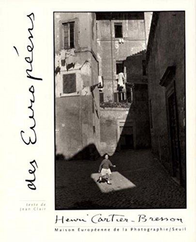 Des européens par Henri Cartier-Bresson, Jean Clair