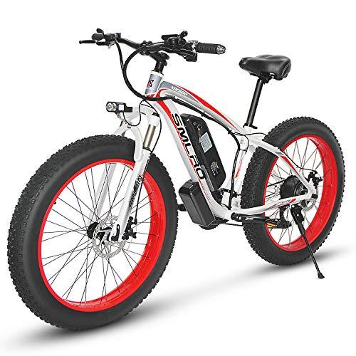 KUDOUT Vélo Electrique 26' E-Bike, 800W 48V Batterie au...