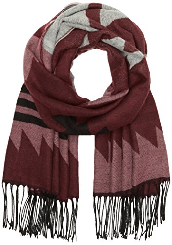 ONLY onlSHEENA WEAVED SCARF AC NOOS, Sciarpa Donna, Multicolore (Windsor Wine), Taglia unica