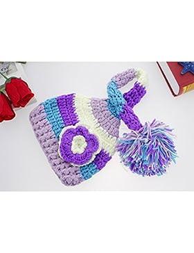 binlunnu neonato fotografia puntelli Boy Girl Costume Crochet Outfits–Cappello Copricapo