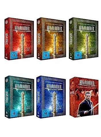 Highlander - Komplette Serie - Staffel 1-6