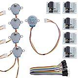 rosenice Schrittmotor 5teilig ULN20035V Stepper Motor + ULN2003Driver Board...
