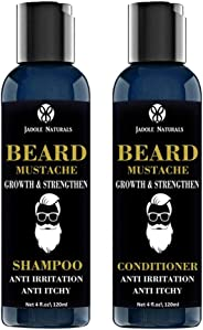 Beard Growth and Thickening Shampoo and Conditioner Organic
