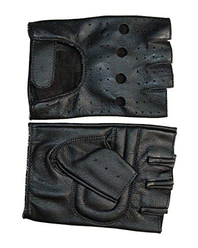 Roleff Racewear sin dedos Guantes verano piel RO 30