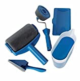 Paint Roller Set, MEJOY Flachpinsel set Runner Pro Professionelle Flocked Edger Easy Room Wandmalerei Läufer, 5 Stücke