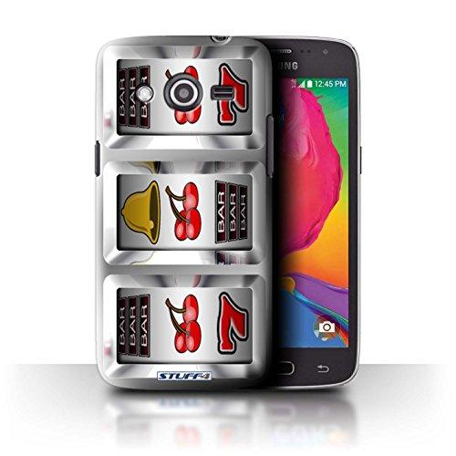 Stuff4 Hülle / Hülle für Samsung Galaxy Avant/G386T / Kirschen Muster / Spielautomat Kollektion (Kirsche Avant)