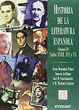 Historia de la Literatura Española Volumen III Época Contemporánea