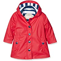 Hatley Splash Jacket - Red (Girls) Rain