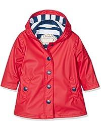 Hatley Splash Jacket-Red (Girls), Manteau Fille