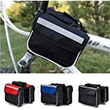 NIKAVI Water Resistant Front Top Tube Pannier Bike Frame Storage Bag for Cycle