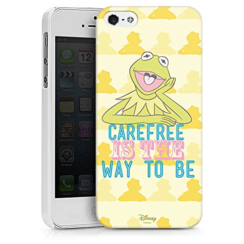 Apple iPhone X Silikon Hülle Case Schutzhülle Disney Kermit Fanartikel Merchandise Hard Case weiß