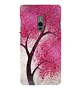 Patterned tree Back Case Cover for One Plus Two::One Plus 2::One+2