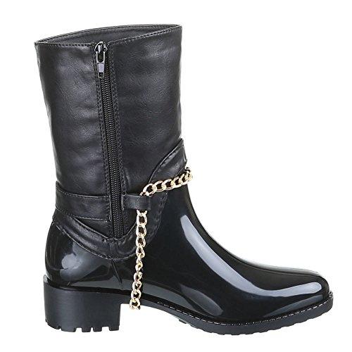 Chaussures, bottines a247 Noir - Noir