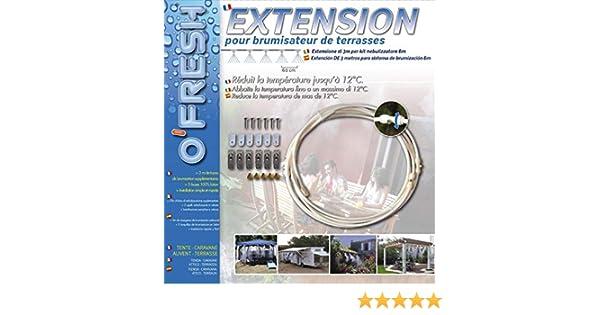 Extension 3m Pour Brumisateur De Terrasse O Fresh Matière Plastique Matière Laiton