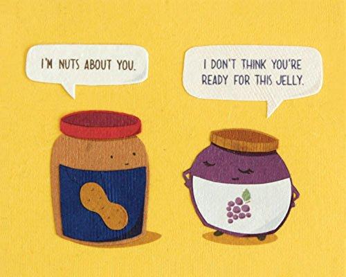 Fair Trade Food Funny Grußkarte-Bereit für diese Jelly-Pack von 3-Recycling + Handsigned von Maker