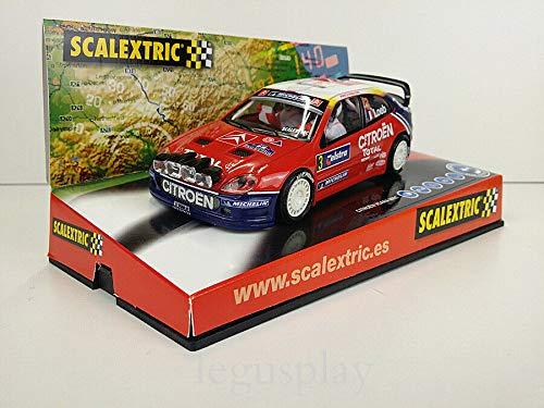 SCX Scalextric Slot Car 6171 Citroën Xsara WRC World