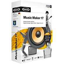 Magix Music Maker 17 - Software de edición de audio/música (Intel Pentium/AMD Athlon, 1GHz, DEU, Caja)