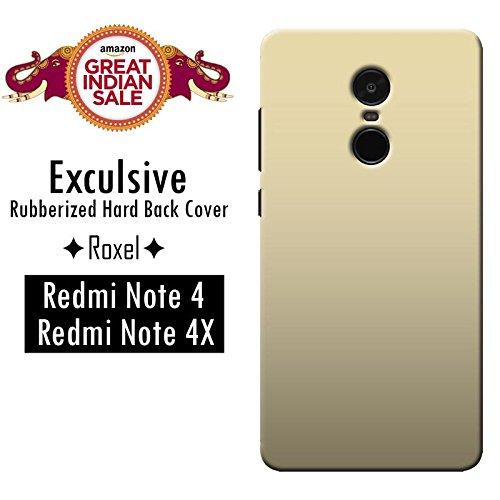 Redmi Note 4 (Gold, 64 GB)/Redmi Note 4 (Black, 64 GB)/Redmi Note 4 (Gold, 32 GB)/Redmi Note 4 (Dark Grey, 64 GB)/Redmi Note 4 (Lake Blue, 64 GB)/Redmi Note 4 (Black, 32 GB)/Redmi Note 4 (Gold, 32 GB) Roxel Exclusive 3D Hard Back Case Cover For Redmi Note 4 (Gold, 64 GB)/Redmi Note 4 (Black, 64 GB)/Redmi Note 4 (Gold, 32 GB)/Redmi Note 4 (Dark Grey, 64 GB)/Redmi Note 4 (Lake Blue, 64 GB)/Redmi Note 4 (Black, 32 GB)/Redmi Note 4 (Gold, 32 GB) -Gold