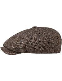 Casquette 8-Panel Harris Tweed Stetson casquette casquette laine