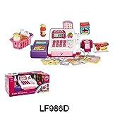 Best Toy Cash Registers - Girls Cash Register w/LED Screen, Scanner, Calculator Supermarket Review