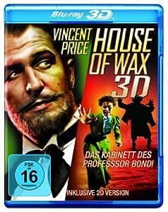 BD * House of Wax  3D - Das Kabinett des Professor Bondi [Blu-ray] [Import anglais]