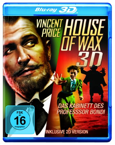 House of Wax - Das Kabinett des Professor Bondi (Blu-ray 3D + 2D) (House Of Wax)