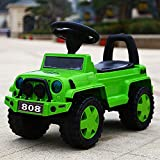 #5: GoodLuck Baybee Ride on Jeep Power Wheel Toy Green Push Car for Baby Boys and Baby Girls (1-2 Years)