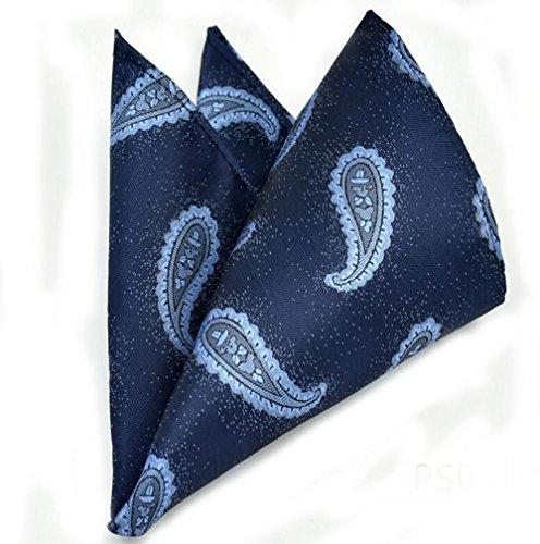 Pour des hommes Paisley Ensemble de cravate motif Pocket Square Mouchoir Mariage 10