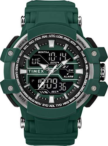 Timex Herren Digital Uhr mit Harz Armband TW5M22800