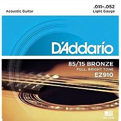 Kit de Cuerdas - D'Addario EZ910, Naranja