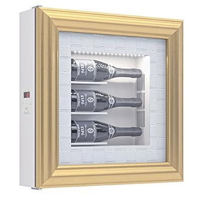 Pavone Vita Refrigerated Cabinet Housing for 3 Bottles White Wine by QUADRO VINO