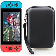 Housse Nintendo Switch Blitz⚡ | Pochette de Rangement et de Transport | Case Rigide et Solide | 10 Emplacements pour Ranger les Cartouches de Jeux